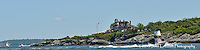 Castle Hill Lighthouse, Newport: Panorama