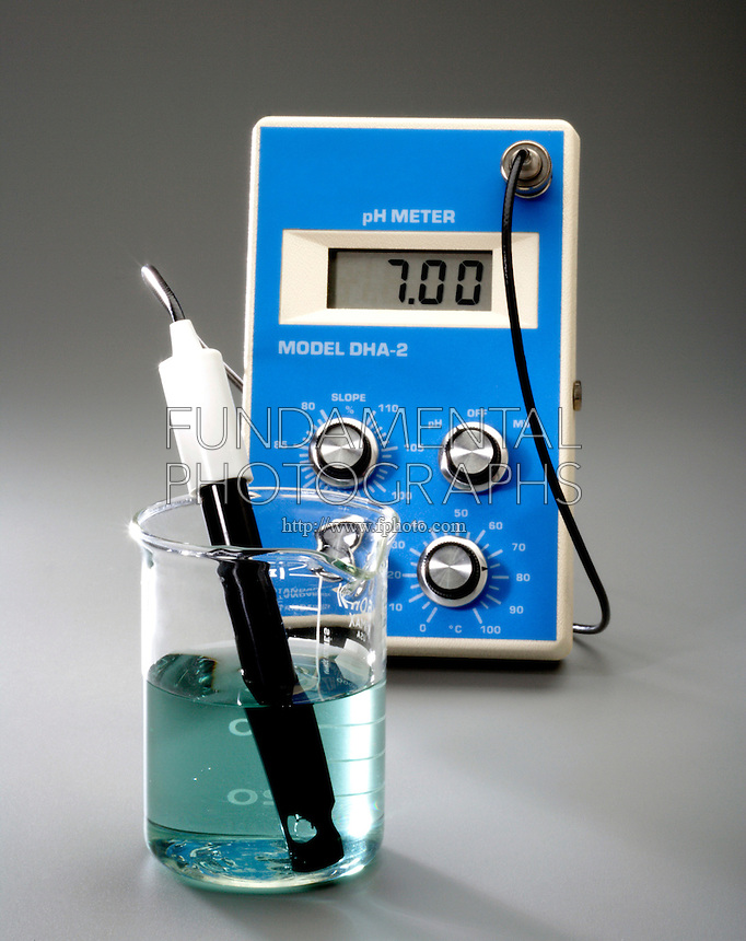 USING A pH METER WITH BROMOTHYMOL BLUE INDICATOR<br />