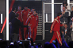 Spanish Soccer Team attend the aniversary of radio show 'El Larguero' in Madrid. May 26, 2014. (ALTERPHOTOS)