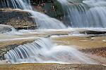 Cascading Falls over Ledges
