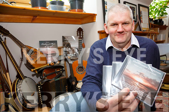 A CD and booklet of music from the Binneas Collection will be launched in the Sea lodge, Waterville on the Saturday 3rd February as part of the Éigse na Brídeoige festival featuring songs and music from the Iveragh Peninsula featuring all local artists, pictured here Peter Mullarkey one of the contributors.