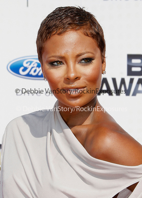 Eva Pigford arrives at the 2010 BET Awards at the Shrine Auditorium in Los Angeles, California on June 27,2010                                                                               © 2010 Hollywood Press Agency