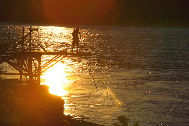Salmon Fishing on Columbia River