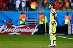 Iker Casillas (ESP), JUNE 13, 2014 - Football / Soccer : FIFA World Cup Brazil 2014 Group B match between Spain 1-5 Netherlands at Arena Fonte Nova in Salvador, Brazil. (Photo by D.Nakashima/AFLO)