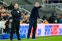 Blackburn Rovers manager Tony Mowbray shouts instructions to his team from the technical area<br /> <br /> Photographer Alex Dodd/CameraSport<br /> <br /> Emirates FA Cup Third Round - Newcastle United v Blackburn Rovers - Saturday 5th January 2019 - St James' Park - Newcastle<br />  <br /> World Copyright &copy; 2019 CameraSport. All rights reserved. 43 Linden Ave. Countesthorpe. Leicester. England. LE8 5PG - Tel: +44 (0) 116 277 4147 - admin@camerasport.com - www.camerasport.com