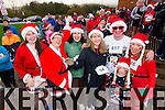 Niamh Cleary Aine Quinn, Geraldine Cleary, Anne Cleary,  Ed Shanahan, Jennifer Shanahan and Daniel Shanahan, who took part in the Santa 5k run on Sunday last in aid of the Ronald McDonald House, Crumlin.