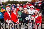 Niamh Cleary Aine Quinn, Geraldine Cleary, Anne Cleary,  Ed Shanahan, Jennifer Shanahan and Daniel Shanahan, who took part in the Santa 5k run on Sunday last in aid of the Ronald McDonald House, Crumlin.