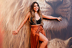 Actress and singer mexicana Danna Paola attends the photocall of 'El Rey León'. July 16, 2019. (ALTERPHOTOS/Johana Hernandez)