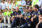 Adrian Newey (GBR), Red Bull Racing (ex. McLaren), Technical Operations Director - Daniel Ricciardo (AUS)  Red Bull Racing <br />  Foto © nph / Mathis