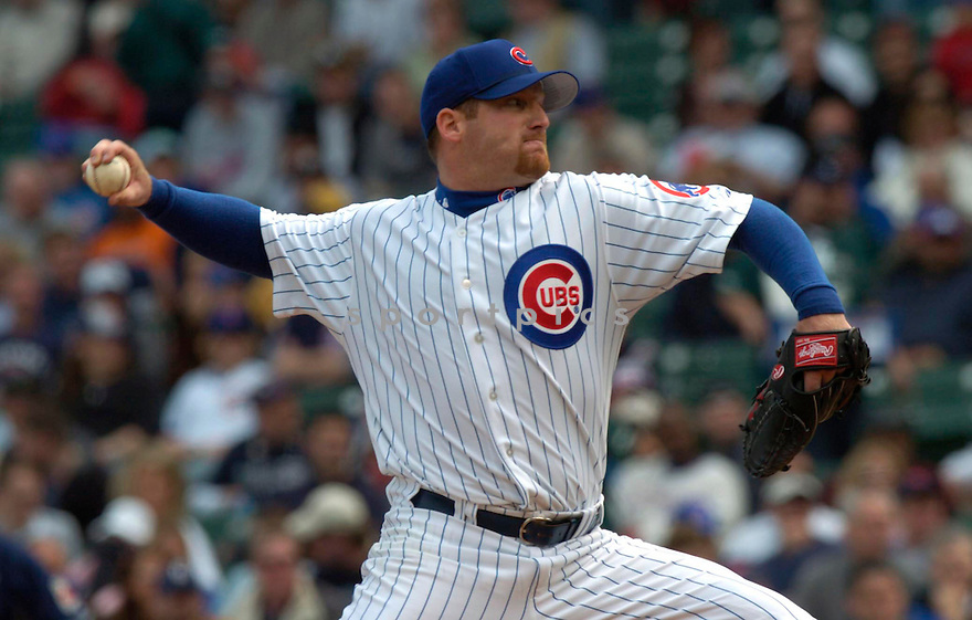 Ryan Dempster during the Chicago Cubs v. San Diego Padres game on April 11, 2005...Padres win 1-0..David Durochik / SportPics