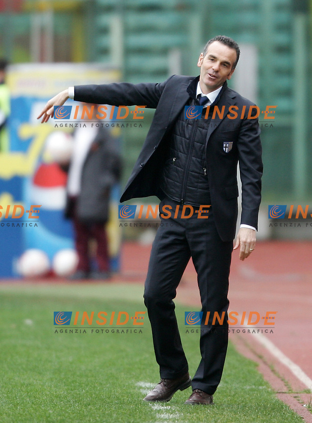 Stefano Pioli (Parma) trainer<br /> Italian &quot;Serie A&quot; 2006-07<br /> 11 Feb 2007 (Match Day 23)<br /> Roma-Parma (3-0)<br /> &quot;Olimpico&quot;-Stadium-Roma-Italy<br /> Photographer: Andrea Staccioli INSIDE