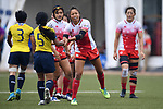 Ano Kuwai (JPN), <br /> AUGUST 31, 2018 - Rugby : Women's Preliminary round Group B match between Japan 26-0 Thailand at Gelora Bung Karno Rugby Field during the 2018 Jakarta Palembang Asian Games in Jakarta, Indonesia. <br /> (Photo by MATSO.K/AFLO SPORT)