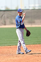 Bridger Hunt, Los Angeles Dodgers 2010 minor league spring training..Photo by:  Bill Mitchell/Four Seam Images.