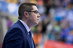 San Pablo Burgos coach Diego Epifanio during Liga Endesa match between Real Madrid and Unicaja Malaga at Coliseum Burgos in Burgos , Spain. January 27, 2018. (ALTERPHOTOS/Borja B.Hojas)