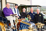 Old style<br /> ------------<br /> L-R Pj Riordan, Ardfert, Paddy O'Leary, John Mahony, both Tralee, Brendan Shanahan Abbeydorney and Paul Horan, Ballymac admiring the French made 1920 Bolide last Saturday morning at the Kingdom Vintage Veteran and Classic Car Club (KVV&amp;CCC) Autumn run based at the Kenmare Bay hotel