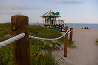 DELRAY BEACH FL - JUNE 29: General view of Delray Beach as South Florida beaches are to close for July Fourth weekend, Florida reports another record spike in coronavirus cases, Florida's Covid-19 surge shows the state's reopening plan is not working on June 29, 2020 in Delray Beach, Florida. Credit: mpi04/MediaPunch