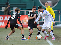 Washington D.C. - March 7, 2015: D.C. United defeated the Montreal Impact 1-0 during the opening game of the 2015 Major League Soccer season at RFK Stadium.