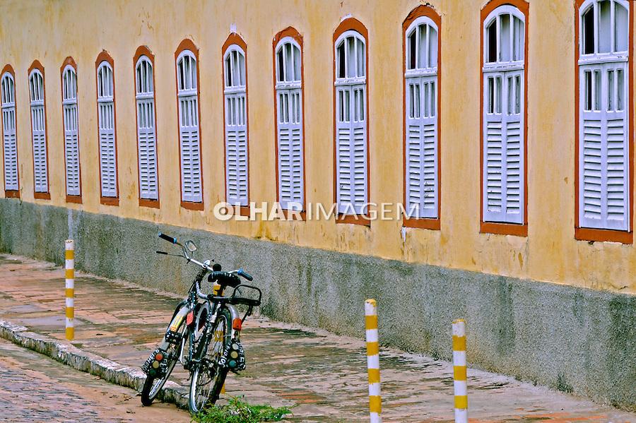 Casaroes na cidade de Oeiras. Piaui. 2011. Foto de Candido Neto.