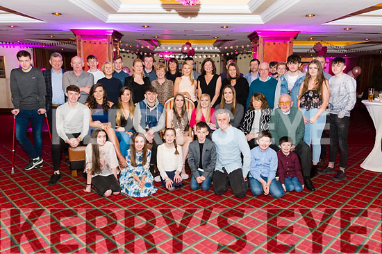 Amber O'Donoghue from Killarney celebrated her 21st birthday surrounded by friends and family in the Plaza Hotel, Killarney last Saturday night.