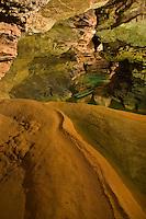 Europe/France/Midi-Pyrénées/46/Lot/Padirac: Gouffre de Padirac - la rivière souterraine