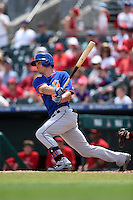 New York Mets infielder Matt Reynolds (55) during a Spring Training game against the St. Louis Cardinals on April 2, 2015 at Roger Dean Stadium in Jupiter, Florida.  The game ended in a 0-0 tie.  (Mike Janes/Four Seam Images)