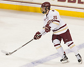 Mike Merulla (BC - 20) - The visiting University of Vermont Catamounts tied the Boston College Eagles 2-2 on Saturday, February 18, 2017, Boston College's senior night at Kelley Rink in Conte Forum in Chestnut Hill, Massachusetts.Vermont and BC tied 2-2 on Saturday, February 18, 2017, Boston College's senior night at Kelley Rink in Conte Forum in Chestnut Hill, Massachusetts.