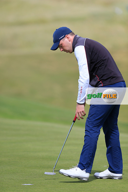 David Foy (Laytown &amp; Bettystown) of the East of Ireland championship, Co Louth Golf Club, Baltray, Co Louth, Ireland. 03/06/2017<br /> Picture: Golffile | Fran Caffrey<br /> <br /> <br /> All photo usage must carry mandatory copyright credit (&copy; Golffile | Fran Caffrey)