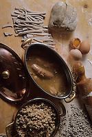 Europe/France/Rhone-Alpes/73/Savoie/Courchevel: Diots et crozets au vin blanc