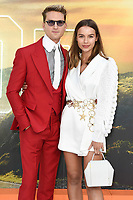 "LONDON, UK. July 30, 2019: Oliver Proudlock at the UK premiere for ""Once Upon A Time In Hollywood"" in Leicester Square, London.<br /> Picture: Steve Vas/Featureflash"