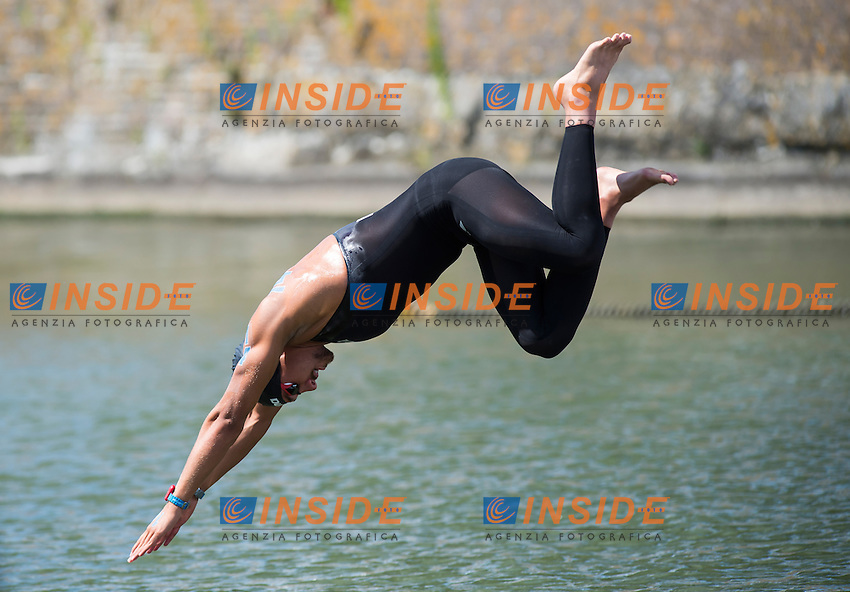 SANZULLO Mario ITA<br /> Hoorn, Netherlands <br /> LEN 2016 European Open Water Swimming Championships <br /> Open Water Swimming<br /> Men's 5km<br /> Day 02 12-07-2016<br /> Photo Giorgio Perottino/Deepbluemedia/Insidefoto