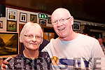 At Kitty Flynn's 50th birthday party in The Red Fox Inn, Glenbeigh on Saturday night Writer Noreen Ahern and T.D John Brassil
