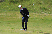 Markus Braadlie (NOR) on the 4th during Round 1 of the The Amateur Championship 2019 at The Island Golf Club, Co. Dublin on Monday 17th June 2019.<br /> Picture:  Thos Caffrey / Golffile<br /> <br /> All photo usage must carry mandatory copyright credit (© Golffile | Thos Caffrey)