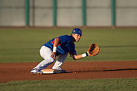 AZL Cubs 2 second baseman Reivaj Garcia (24) during an Arizona League game against the AZL Reds at Sloan Park on June 18, 2018 in Mesa, Arizona. AZL Cubs 2 defeated the AZL Reds 4-3. (Zachary Lucy/Four Seam Images)