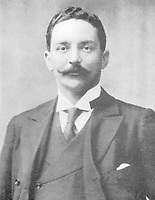 BNPS.co.uk (01202 558833)<br /> Pic: Wikipedia <br /> <br /> PICTURED: Bruce Ismay<br /> <br /> Letter written by William Harrison to his wife Ann complaining about the working conditions on board the Titanic. The personal archive of tragic William Harrison who was valet to Bruce Ismay, the managing director of Titanic's owners White Star Line, fetched £44,000.<br /> <br /> A walking cane with a lightbulb on one end of it that a Titanic survivor waved in a desperate attempt to attract a rescue ship has sold for £105,000.