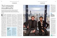 Helsingin Sanomat (leading Finnish daily) on Finnish entrepreneurs in Warsaw, Poland, February 2016<br /> Photo: Marzena Hmielewicz