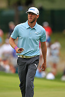 Graham DeLaet (CAN) on the 8th green during Thursday's Round 1 of the 2014 PGA Championship held at the Valhalla Club, Louisville, Kentucky.: Picture Eoin Clarke, www.golffile.ie: 7th August 2014