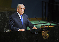 SEP 19 Benjamin Netanyahu Speaks At General Assembly