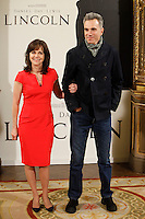 Sally Field and Daniel Day-Lewis attend 'Lincoln' photocall at Casa de America in Madrid, Spain. January 16, 2013. (ALTERPHOTOS/Caro Marin) /NortePhoto