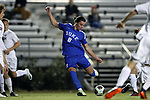 DURHAM, NC - NOVEMBER 25: Duke's Ciaran McKenna (SCO). The Duke University Blue Devils hosted the Fordham University Rams on November 25, 2017 at Koskinen Stadium in Durham, NC in an NCAA Division I Men's Soccer Tournament Third Round game. Fordham advanced 8-7 on penalty kicks after the game ended in a 2-2 tie after overtime.