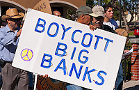 Occupy Orange County - Nov. 5 People with signs