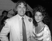 Arnold Schwarzenegger Maria Shriver Studio 54 1978<br /> Photo By Adam Scull/PHOTOlink.net