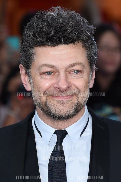 "Andy Serkis arrives for the ""Avengers: Age of Ultron"" European premiere at the Vue cinema, Westfield London. 21/04/2015 Picture by: Steve Vas / Featureflash"