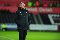 Steve Cooper Head Coach of Swansea City during the Sky Bet Championship match between Swansea City and Charlton Athletic at the Liberty Stadium in Swansea, Wales, UK.  Thursday 02 January 2020