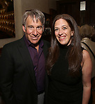 Stephen Schwartz and Kara Unterberg attends the DGF Salon with Stephen Schwartz at the Uterberg Residence on May 1, 2017 in New York City.