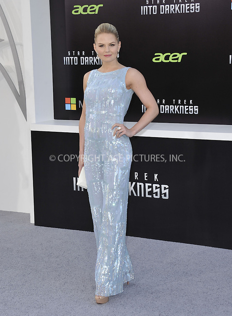 WWW.ACEPIXS.COM....May 14 2013, LA....Jennifer Morrison arriving at the premiere of Paramount Pictures' 'Star Trek Into Darkness' at the Dolby Theatre on May 14, 2013 in Hollywood, California.......By Line: Peter West/ACE Pictures......ACE Pictures, Inc...tel: 646 769 0430..Email: info@acepixs.com..www.acepixs.com