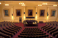 State House, Concord, State Capitol, NH, New Hampshire, The House of Representatives inside The New Hampshire State House in the capital city of Concord.