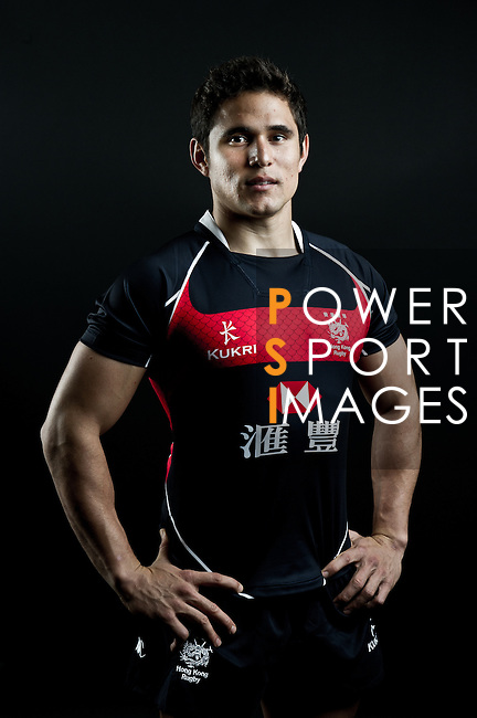 Rowan Varty poses during the Hong Kong 7's Squads Portraits on 5 March 2012 at the King's Park Sport Ground in Hong Kong. Photo by Micke Pickles / The Power of Sport Images