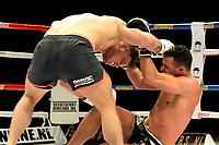 GRONINGEN -  vechtsportgala Glorieus Heroes .18-11-2017, Martin Reemeijer tegen Barbari