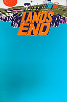 BNPS.co.uk (01202 558833)<br /> Pic: DavidLayFRICS/BNPS<br /> <br /> PICRTURED: A poster advertising Lands End.<br /> <br /> A wonderful collection of vintage British travel posters celebrating the golden age of the seaside getaway have emerged for sale for £15,000.<br /> <br /> The posters were produced by Great Western Railway and British Railways between the 1930s to the 1960s to encourage Brits to holiday on the Cornish coast.<br /> <br /> The collection of about 30 posters has been put together by a private collector over the past two decades who is now selling them with auction house David Lay FRICS, of Penzance, Cornwall.