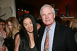 "Vera Wang and Ted Turner at the Rebecca Moses ""A Life of Style"" book signing at Fratelli Rossetti Boutique, November 11, 2010."
